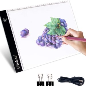 Winload Tablette Lumineuse A4 Led